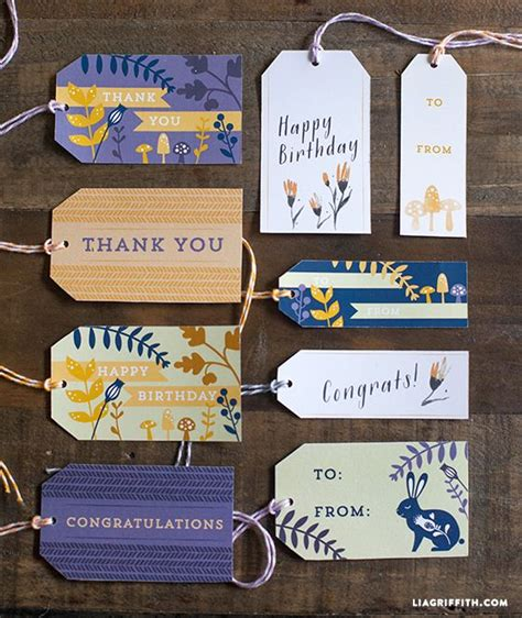 printable gift labels tags by the lia griffith 78 bilder om free printables p 229