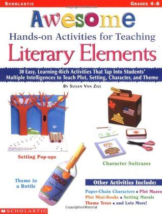 teaching literary elements with picture books awesome on activities for teaching literary elements
