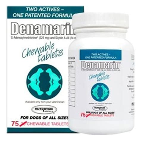 denamarin for dogs denamarin 225 mg for dogs 75 chewable tablets vetdepot