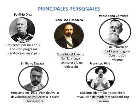 imagenes de personajes de la revolucion mexicana con nombres revoluci 243 n mexicana