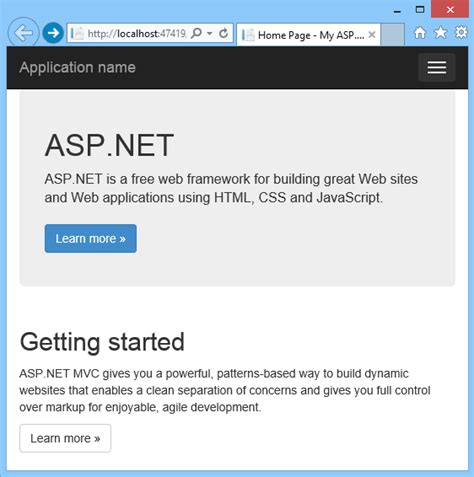 css templates for asp net web application scottgu s blog announcing the release of visual studio