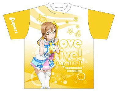 Kaos Anime Lovelive Takami Chika Graphic T Shirt amiami character hobby shop live graphic t shirt g hanamaru