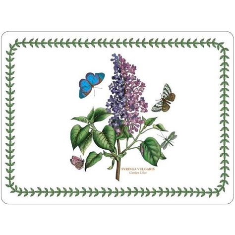 Portmeirion Botanic Garden Placemats Portmeirion Botanic Garden Placemats Set Of 4 Louis Potts
