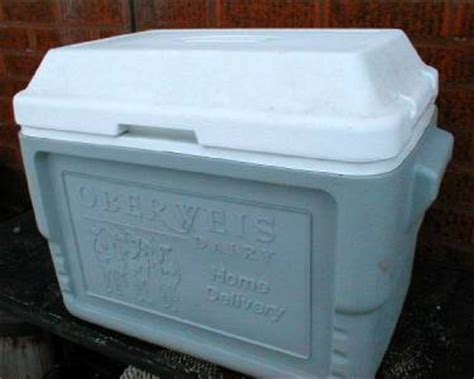 coleman oberweis dairy home delivery milk box cooler