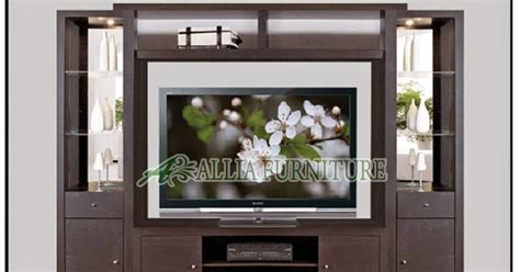 Meja Tv 32 Inch lemari rak tv lcd minimalis allia furniture