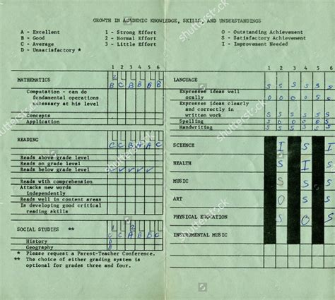sle of report card sle kindergarten report card 28 images 100 sle report