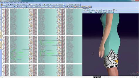 fabric pattern making software optitex printed fabric tool 3d fashion apparel design