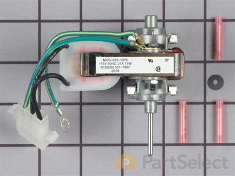 frigidaire evaporator fan motor frigidaire 5300158289 evaporator fan motor kit
