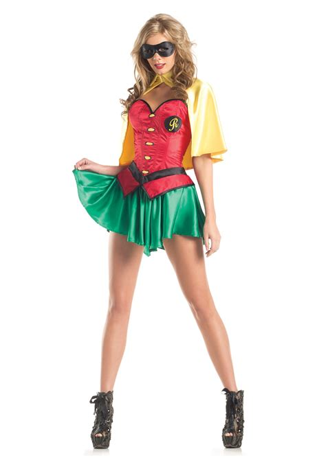 robin costume womens sidekick costume