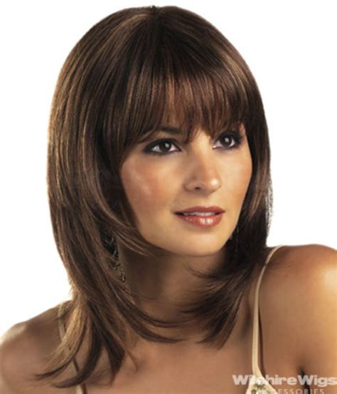 hairstyles for round faces medium length hair cuts 14 finest medium length hairstyles for round faces
