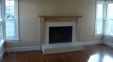mantels mantel on a raised hearth fireplace