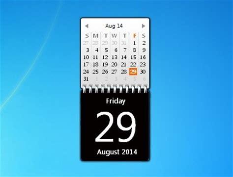 G Calendar Widget Zerog Calendar Windows 7 Desktop Gadget