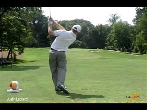 justin leonard golf swing justin leonard 2012 wyndham chionship by grexa golf