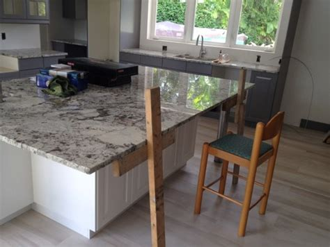 how much overhang for kitchen island granite island countertop overhang help