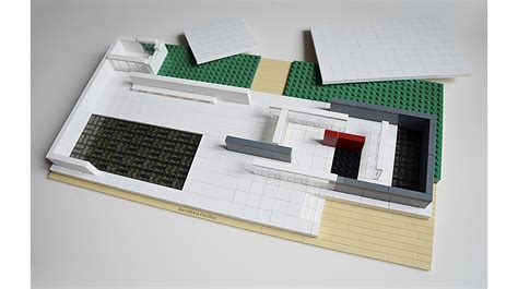 New House Designs by Lego Ideas Lego Architecture The Barcelona Pavilion
