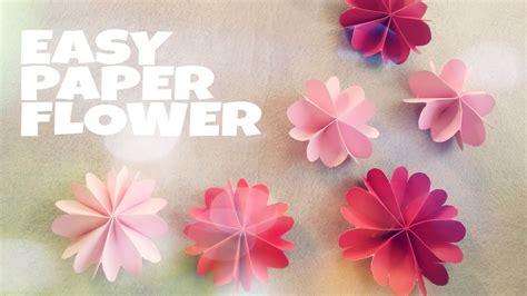 diy room decoration  paper flower youtube