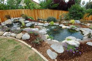 how to build small waterfalls small backyard landscaping