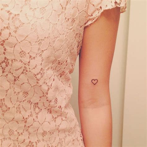 small heart tattoos on arm 10 images about unique ideas for on
