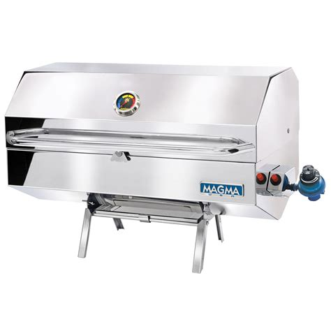 large boat grill magma monterey gourmet series propane gas boat bbq grill