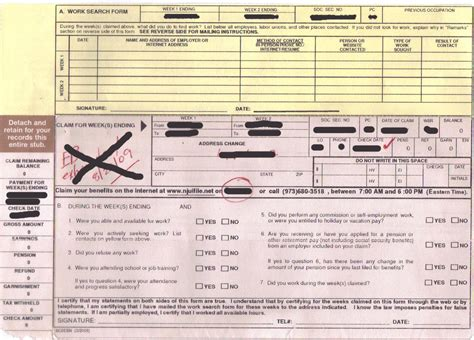 Search Nj Unemployment Claim Form Edd Claim Form Search