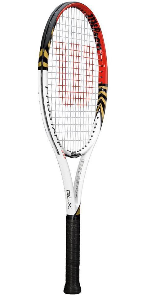 Raket Tenis Wilson Blade 104 wilson prostaff six one 26 blx federer junior racket tennisnuts