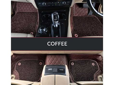 Karpet Dashboard Mobil Brv 7d luxury custom fitted car mats for tuv300 coffee