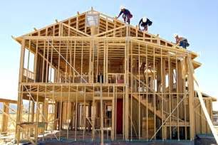 construction home real estate market looking up new home construction rises