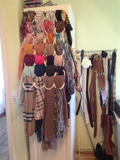 Aufbewahrung Schals