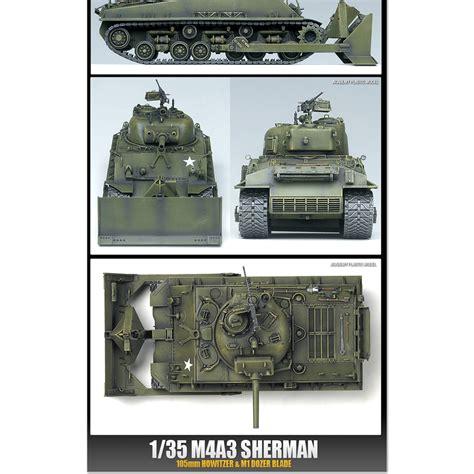 Academy 13313 1 35 Plastic Model Kit Pz Bef Wg 35 T German Command T academy 13207 1 35 plastic model kit m4a3 sherman 105mm howitzer m1 dozer blade ebay