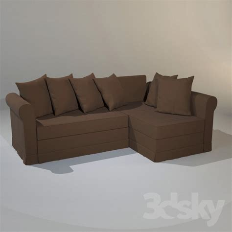 ikea moheda sofa bed 3d models sofa ikea moheda sofa bed