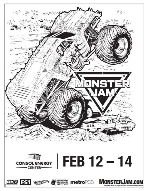 metro pcs presents monster jam in pittsburgh february 12