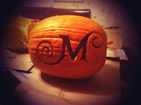 monogram pumpkin templates monogram pumpkin my style