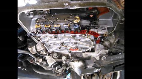 car engine repair manual 2010 volkswagen golf transmission control 2001 vw eurovan axk engine 01p transmission valve body removal youtube