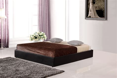 leather king bed pu leather king bed ensemble frame