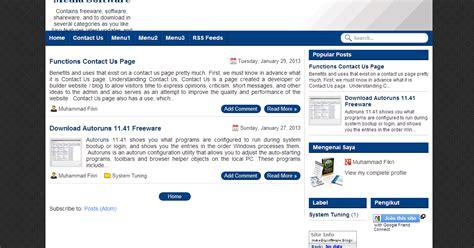 cara membuat blog fast loading simple template fast loading and seo friendly