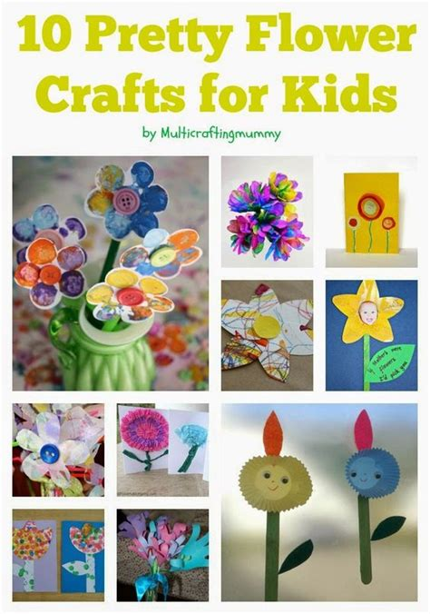 flower arts and crafts for flower arts and crafts activities for of all ages
