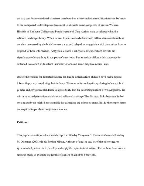Autism Essay Topics argumentative essay topics autism