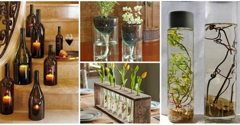 recycle home decor ideas 18 diy projects for old glass bottles