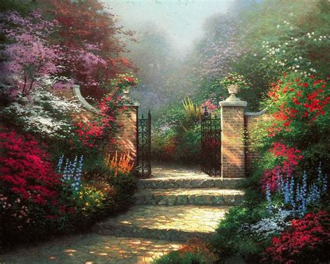 home interiors kinkade prints posters prints kinkade stepping cottage