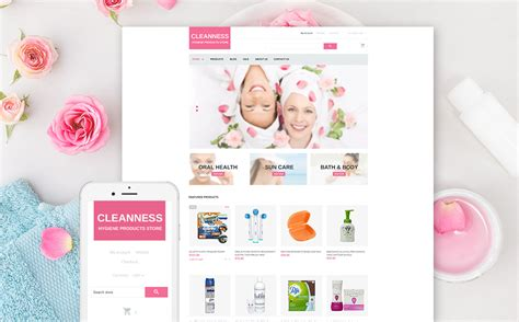 shopify themes cosmetics beauty products shopify theme