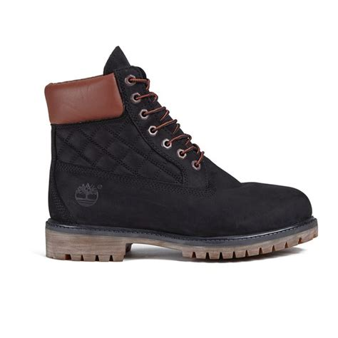 mens black 6 inch timberland boots timberland s icon 6 inch premium boots black nb w