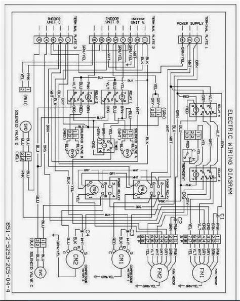 daikin ac wiring diagram general electric window air