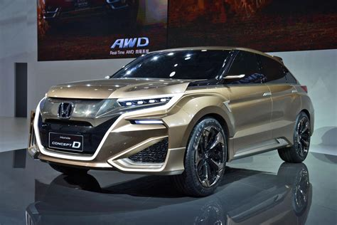 Acura Auto by Honda And Acura Will Each Unveil A New Crossover At The