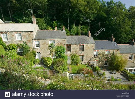 St Agnes Cornwall Cottages by Stippy Stappy A Steep Row Of Cornish Tin Miners