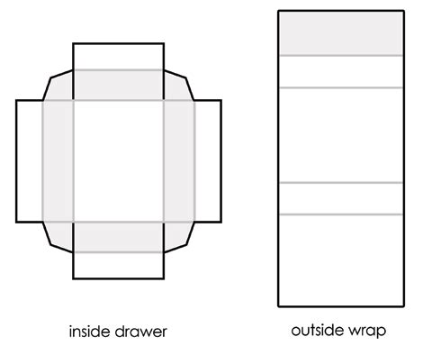 Pull Out Gift Card Holder Template by A Printable Template To Make Matchboxes To Craft