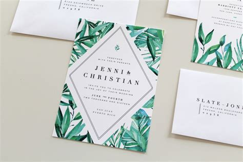Wedding Invitations Nc by Botanical Wedding Invitations Two