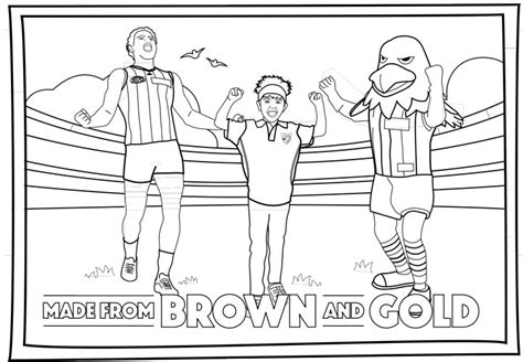 free coloring pages of afl football pictures