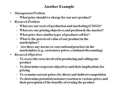 statement of research objectives recap what is marketing research ppt