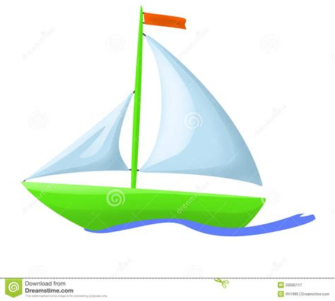green boat pictures illustration of green floating boat royalty free stock