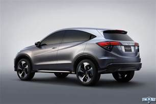 new small cars for 2014 honda s suv concept unveiled jan 14th 9th